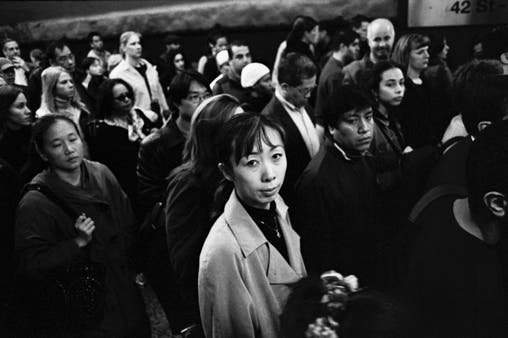 Ryan Brown Snaps the Frenzy of Morning Subway Commute in New York