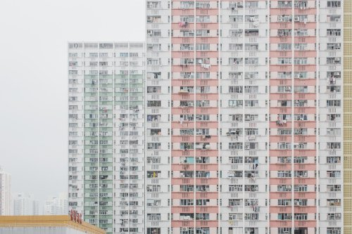 Justyna Zduńczyk's Hong Kong Puzzles is a Study of Color and Geometry