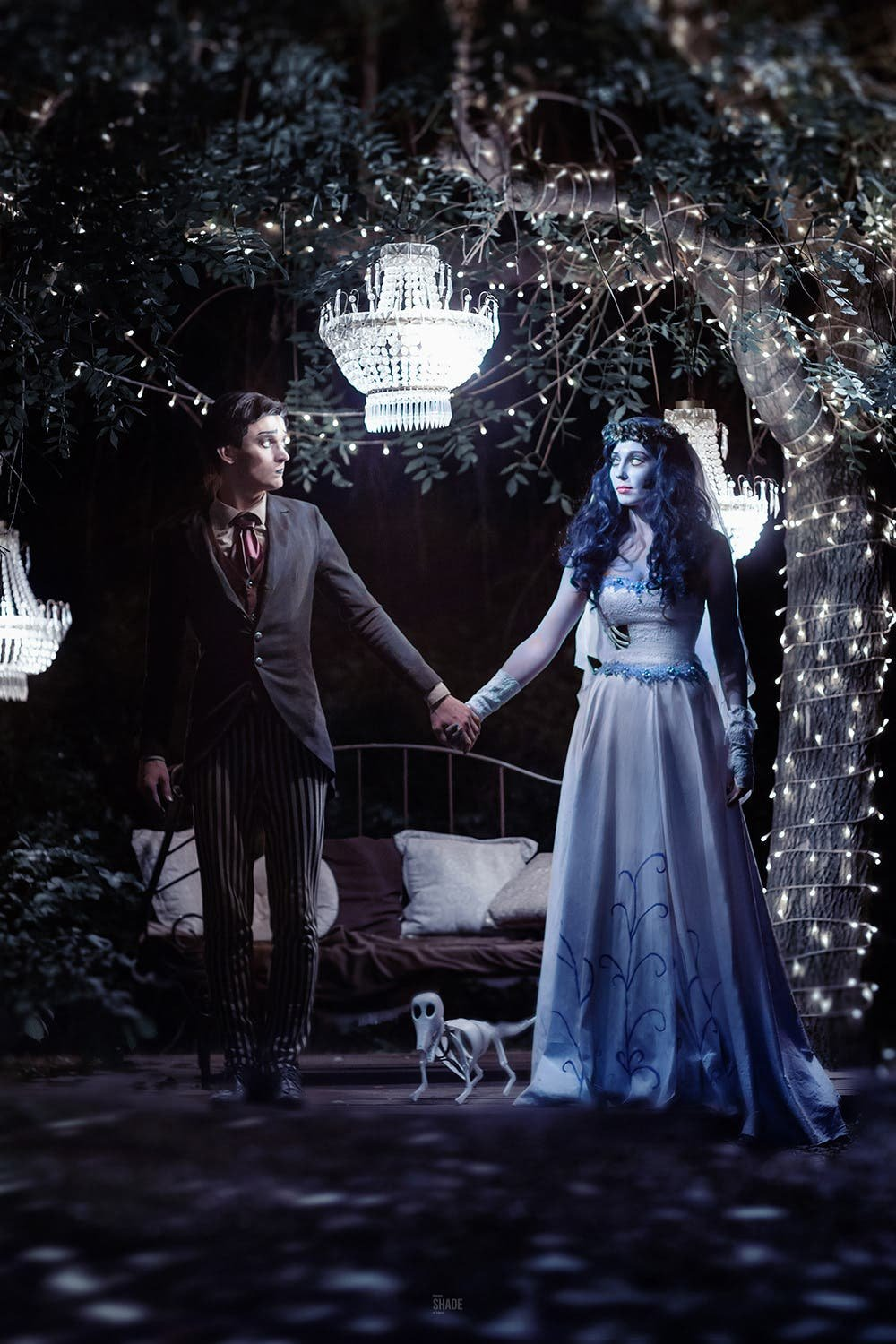 This Corpse Bride Cosplay Photography is a Halloween Masterpiece