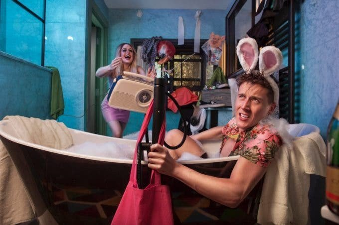 "Creating the Photograph: Kevin Goss-Ross's ""Thinkhouse X: Bathtub Scene"""