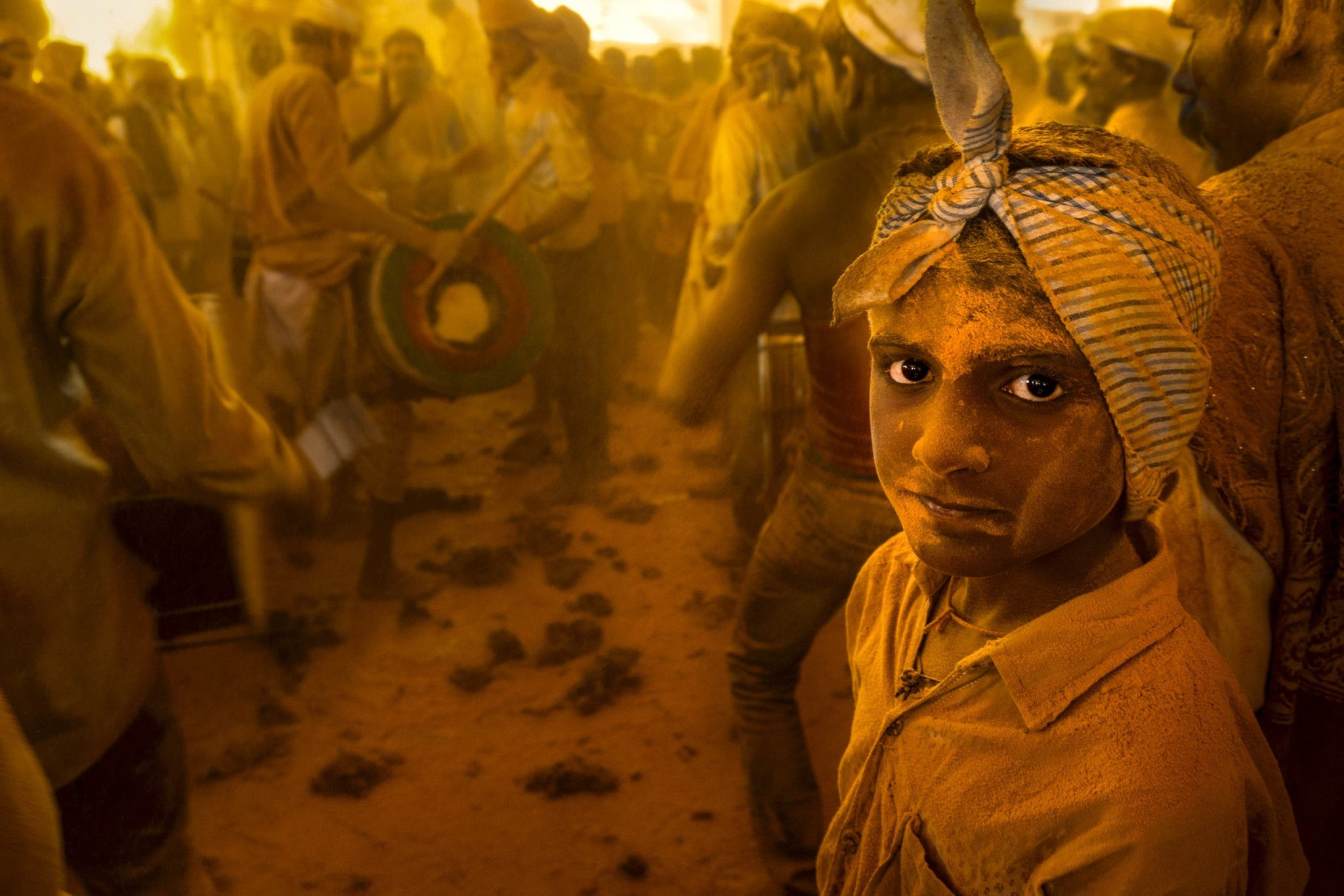 The Golden Hues of the Haldi Festival are Perfect for Documentary Photos