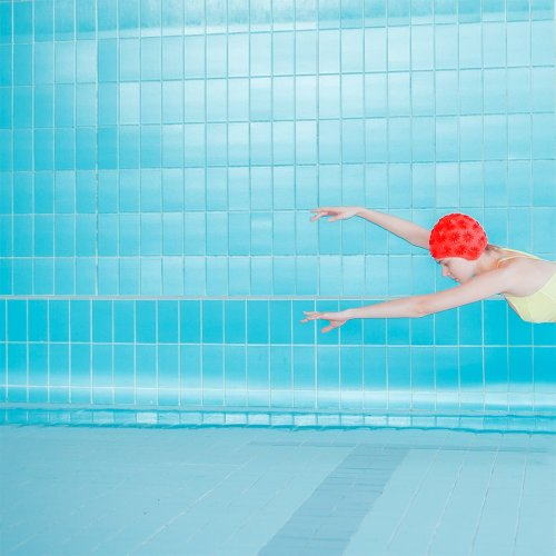Maria Svarbova Created Visually Stunning Conceptual Portraits By Removing Water From A Swimming Pool - The Phoblographer