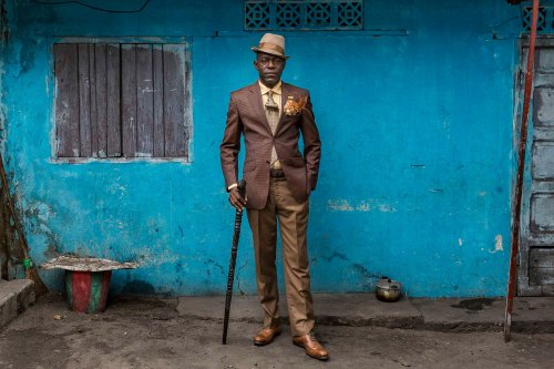 """Tariq Zaidi Lets Us in on the Stylish Circle of the Brazzaville """"Sapeurs"""""""