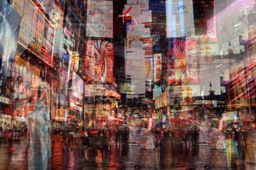 Stephanie Jung's Layered NY Photos Convey the City's Chaos