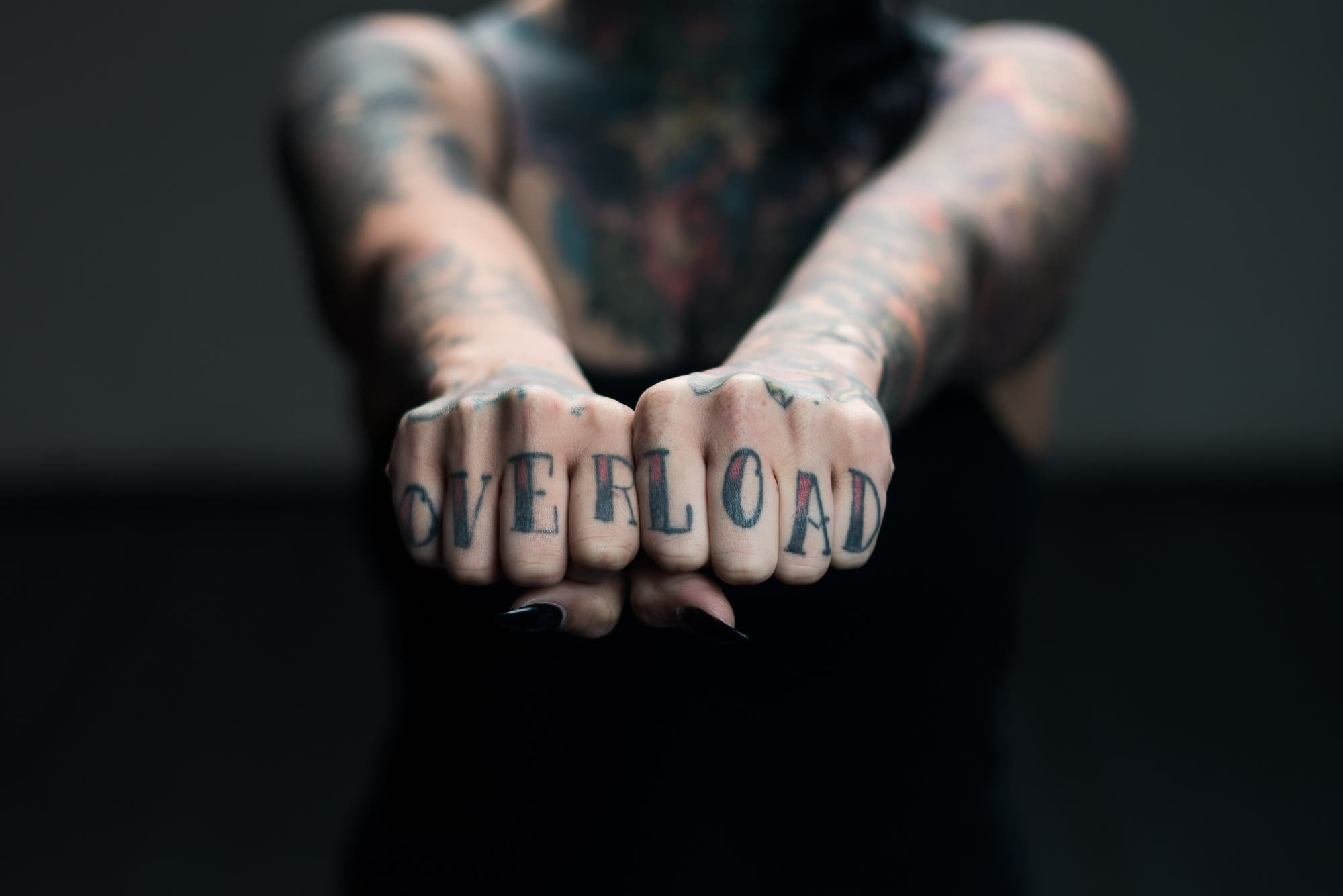 Skin on Canvas: a Portrait Study of Tattooed People (NSFW)