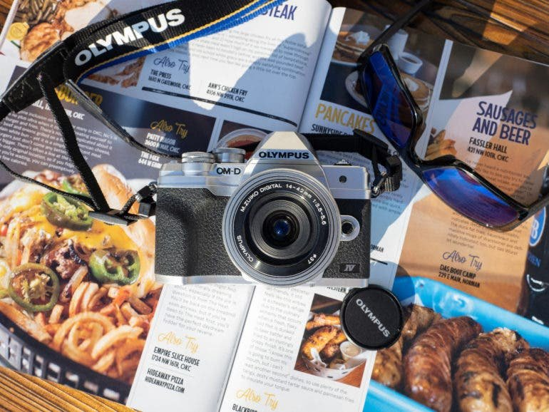 It's Not Groundbreaking, But It's Fun to Use: Olympus EM10 IV Review