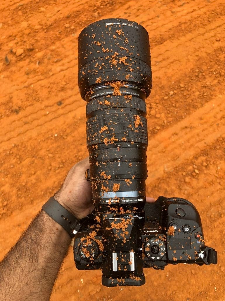 Review: Olympus OMD EM1X (Would You Do This to a Camera?)