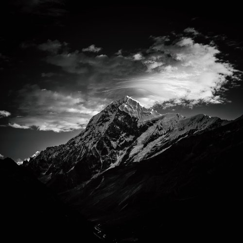 Jayanta Roy's Himalayan Odyssey Is a Hypnotic Black and White Landscape Photo Series