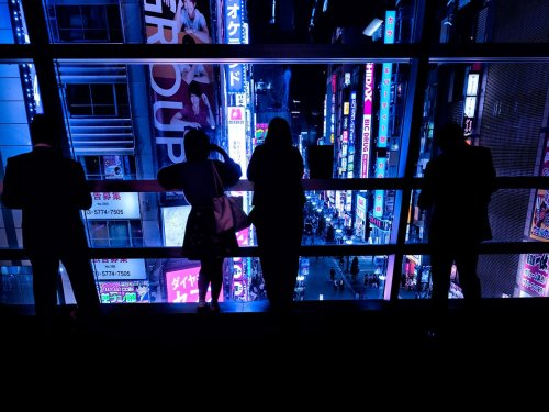 Stefano Gardel Imagines a Cyberpunk Neon Future in Japan
