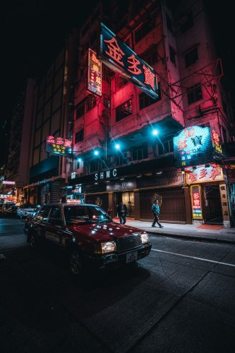 Neon H-ART by 19 Tones Showcases HK's Cinematic Nighttime Glow