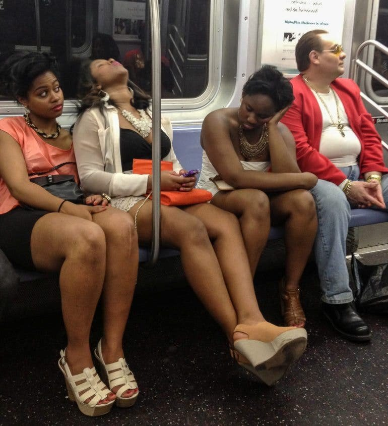 UNLIMITED METROCARD: Candid NYC Subway Photographs