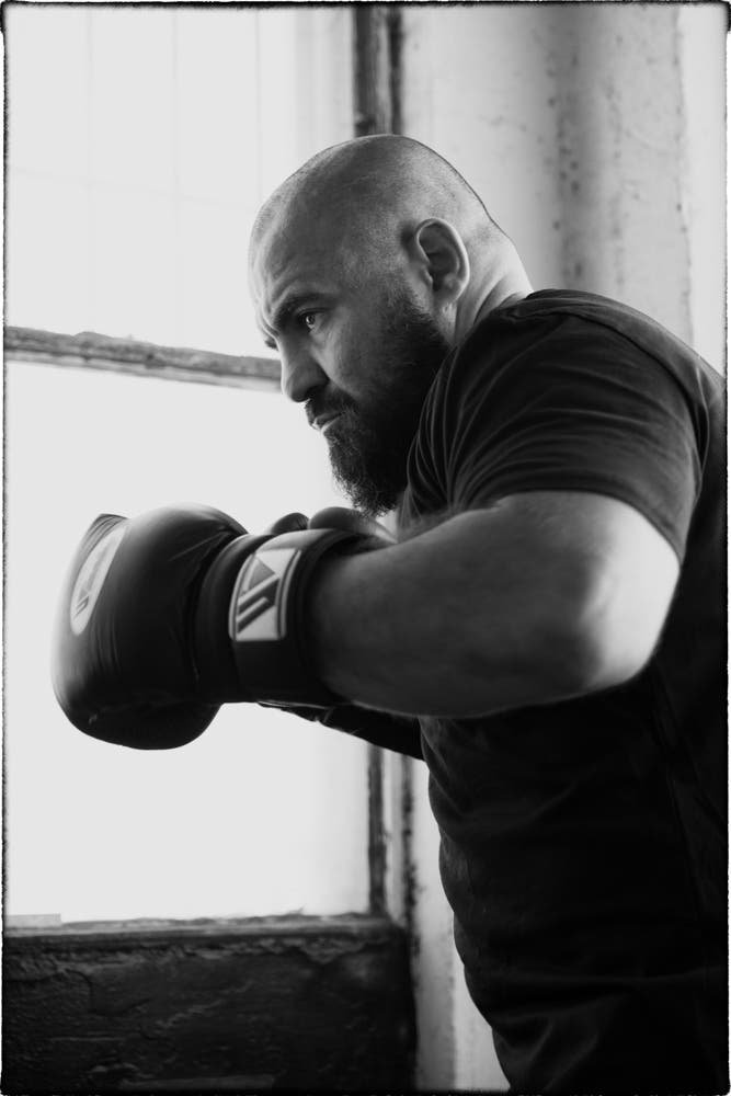 Jack Ronnel's Story of Boxers in Monochrome Deliver a Classic Look