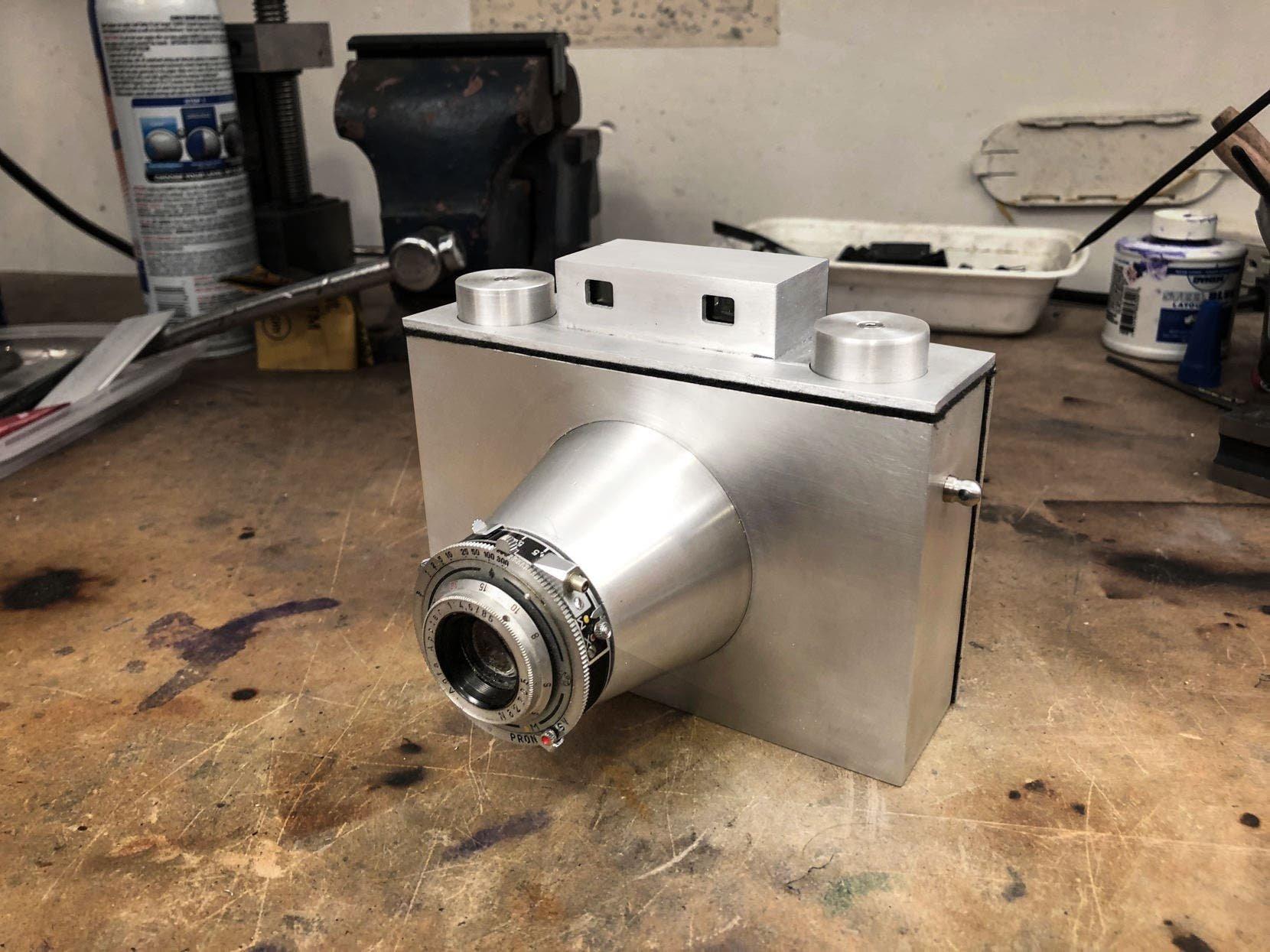 Check Out This All-Aluminum Handmade Medium Format Camera