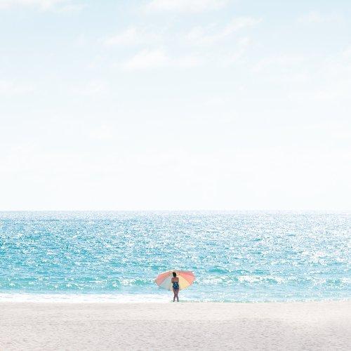 David Behar Captures Scenic Solitude on Manhattan Beach