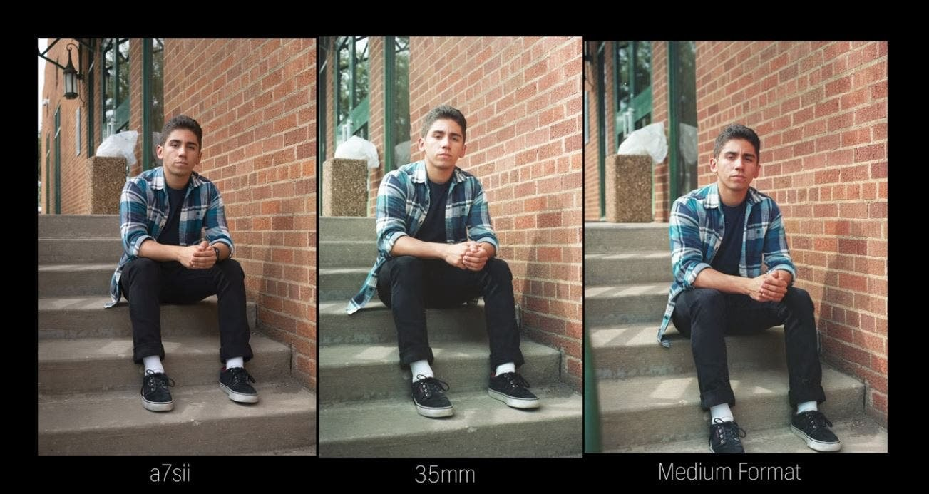 Film vs. Digital: Side by Side Comparison of 35mm, Medium Format, and Mirrorless Photos