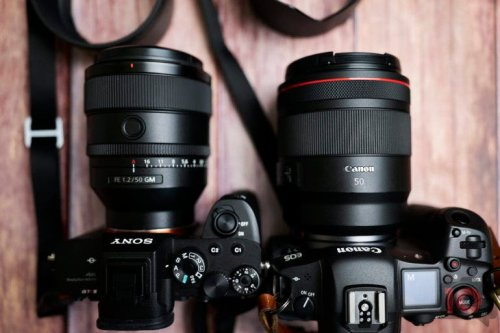Battle of the 50mm f1.2 Lenses. Is Sony Better Than Canon?