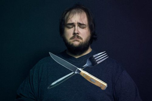 Erik Marcinkowski's Self Portraits Explore a Difficult Relationship with Food