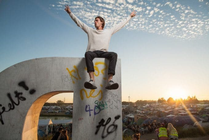 Shooting Environmental Portraits at the Roskilde Festival