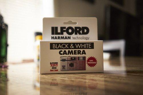 Film Camera Review: Ilford XP2 Super Single Use Camera
