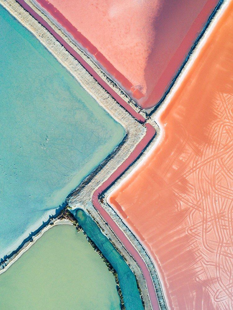 Kevin Krautgartner Reveals the Pastel Beauty of Australia's Salterns