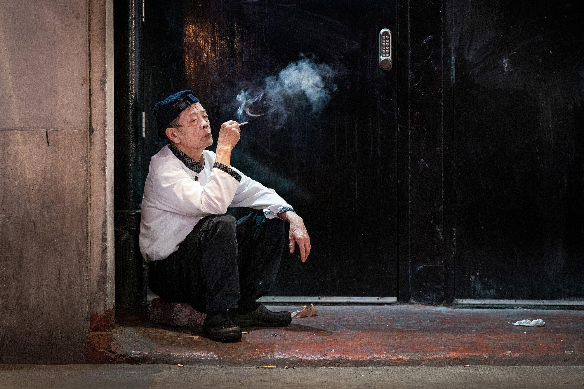 Jan Enkelmann: Moments of Calm Contemplation in London's Chinatown