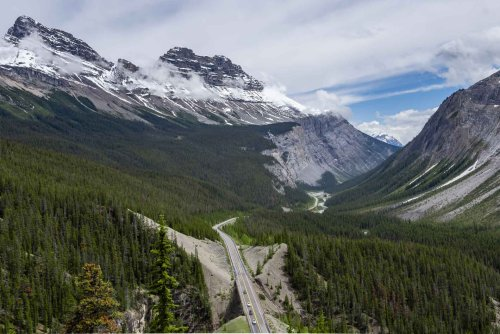 Tips for Driving the Icefields Parkway from Banff to Jasper Alberta