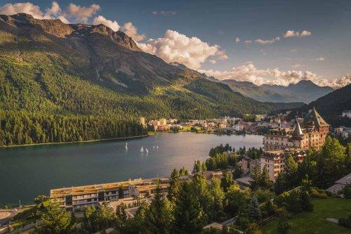 St. Moritz - Summer Fun in Switzerland