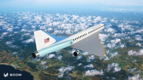 Boom's supersonic jet could one day fly the president of the United States