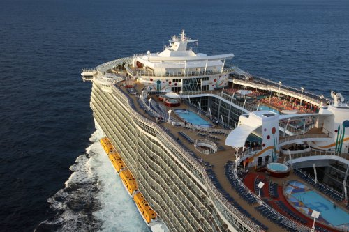 One of the world's biggest cruise ships is heading to Texas — for real, this time