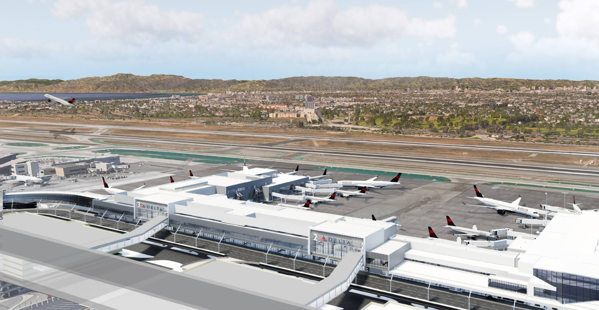Delta speeds up LAX, Salt Lake City renovation projects during pandemic