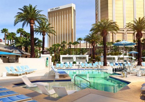 5 reasons to pick the Delano Las Vegas - especially for a short stay