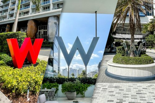 Battle of the three greater Miami-area W Hotels: Miami vs. South Beach vs. Fort Lauderdale