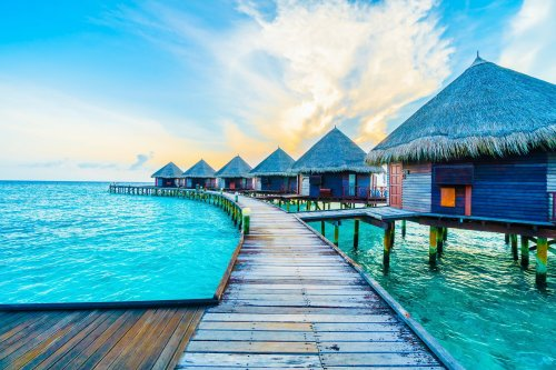 You don't have to fly across the globe for an overwater bungalow