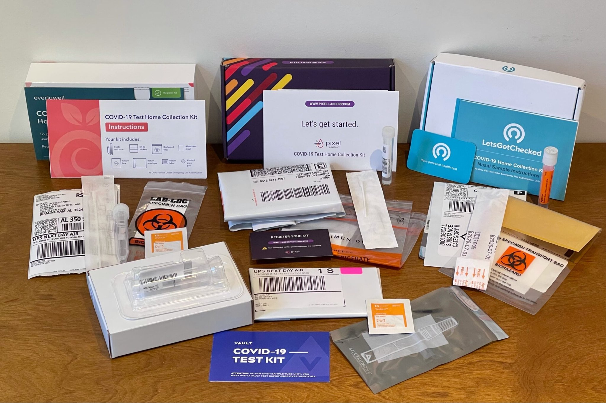 At-home PCR showdown: TPG compares 4 popular COVID-19 tests