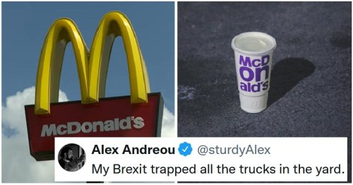Brexit has made McDonald's run out of milkshake and it's the last straw