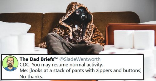 People have been taking a lighter look at the pandemic – 14 funny favourites
