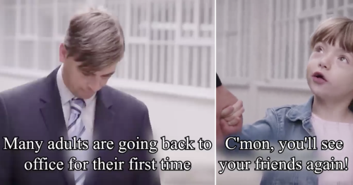 This Belgian sketch show hilariously nails the horror of going back to the office