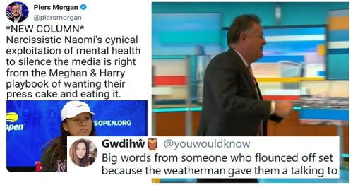 Piers Morgan's attempt to ridicule Naomi Osaka backfired spectacularly