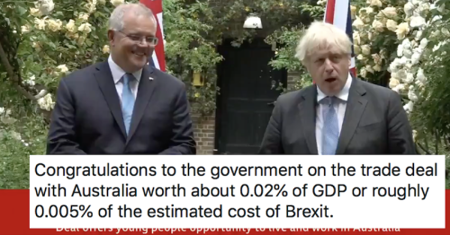 Boris Johnson's Australia trade deal will save us 'up to' £1.22 a year each – only 5 responses you need