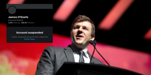 BREAKING: Twitter permanently bans Project Veritas founder James O'Keefe