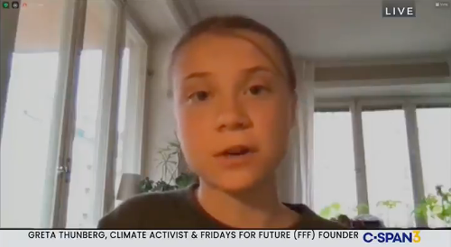 WATCH: Greta Thunberg says leaders' legacy is at stake if they keep 'ignoring the climate crisis'