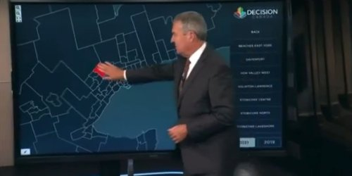 BREAKING: Elections Canada accidentally inputs Liberal lead in Brampton riding before polls closed