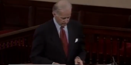 FLASHBACK: Joe Biden calls court packing a corrupt 'power grab'