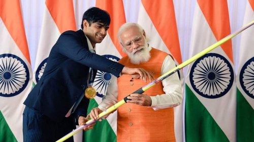 Neeraj Chopra's Olympic javelin, miniature Ram Mandir — PM Modi's gifts you can bid on