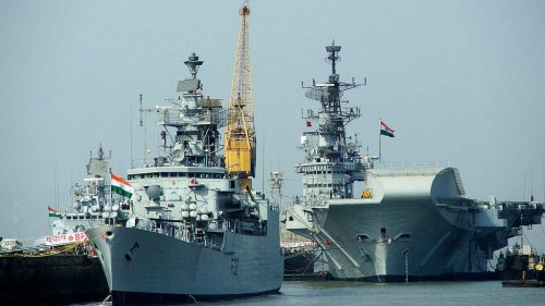 Six Indian naval ships arrive in Sri Lanka to boost bilateral defence cooperation