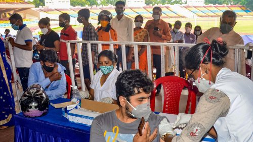 Govt trashes reports on missing target of administering 50 cr Covid vaccine doses by July-end