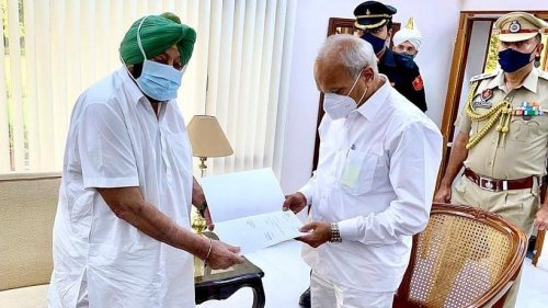 'Humiliated thrice in last 2 months' — Amarinder hands in resignation as Punjab CM