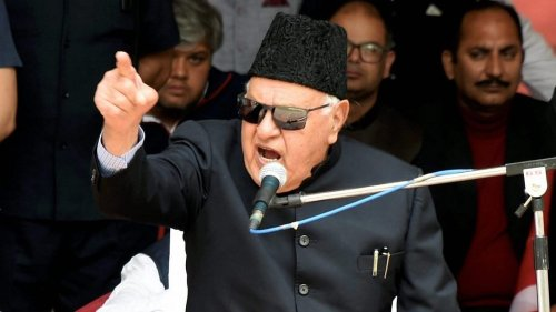 Kashmiris not involved in civilian killings, says Farooq Abdullah, alleges ploy to defame Valley