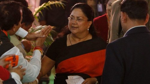 Vasundhara Raje stops attending Rajasthan BJP meetings and events as rift with party widens