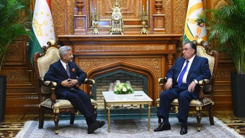 Ahead of SCO summit, Jaishankar meets Tajikistan's top leadership over Afghan situation